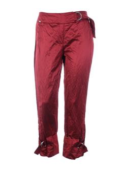 airfield pantacourts femme de couleur rouge