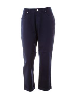 Pantalon casual bleu marine TRUSSARDI JEANS pour femme
