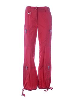 Pantalon casual rouge AIRFIELD pour femme