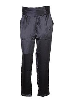 charlie joe pantalons femme de couleur noir