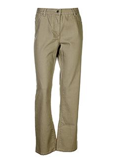 jensen pantalons femme de couleur camel