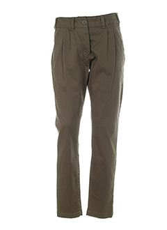 veto pantalons femme de couleur kaki