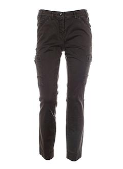 gardeur pantalons femme de couleur marron fonce