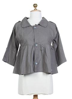 goldy choco vestes femme de couleur gris