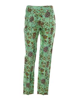 bleu blanc rouge pantalons femme de couleur vert
