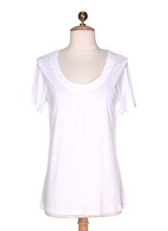 devernois chemises femme de couleur blanc