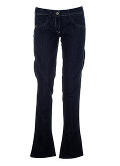 miss sixty pantalons femme de couleur bleu fonce