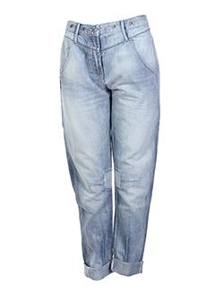 miss sixty jeans fille de couleur bleu clair