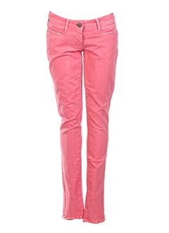miss sixty jeans femme de couleur rose clair