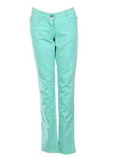 miss sixty jeans femme de couleur vert clair