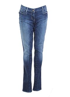 miss sixty jeans fille de couleur bleu fonce