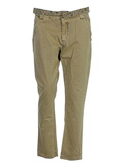 kaporal pantalons femme de couleur camel