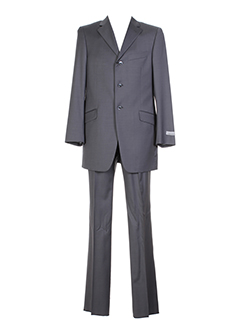 pal et zileri pantalon et veste homme de couleur gris