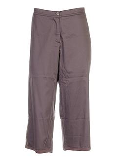 lino factory pantacourts femme de couleur violet