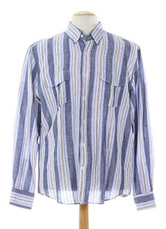 pre end chemises homme de couleur bleu clair