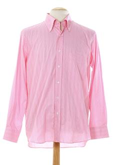 clifter chemises homme de couleur rose