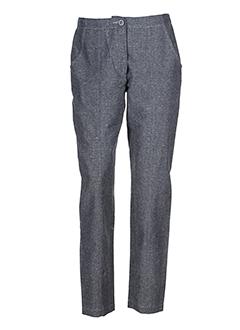 lunn pantalons femme de couleur gris