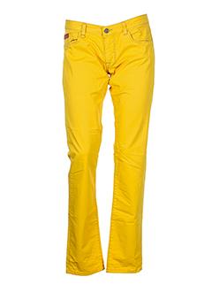unlimited pantalons et decontractes femme de couleur jaune