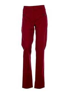 bleu blanc rouge pantalons femme de couleur rouge fonce