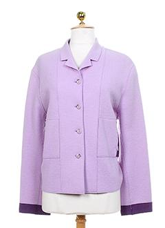 health vestes femme de couleur violet clair