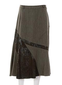 gelco jupes femme de couleur marron