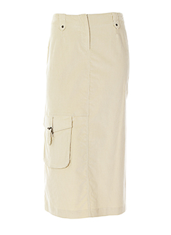 blus&blus jupes femme de couleur beige clair