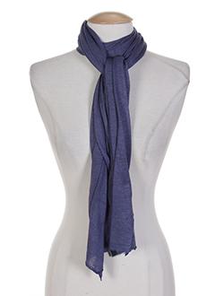 Foulards Femme De Couleur Bleu En Soldes Pas Cher - Modz 8db450133f9