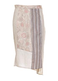 carnet de bord jupes femme de couleur beige