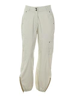 Pantalon casual beige GUIZMO pour femme