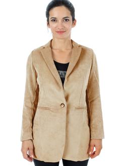 la fee maraboutee vestes femme de couleur marron clair