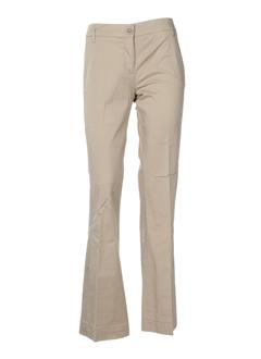 hartford pantalons et decontractes femme de couleur beige