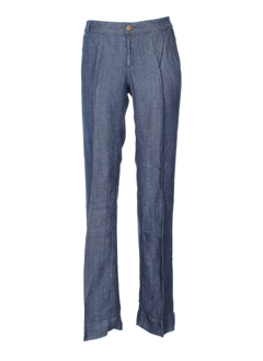 school rag pantalons femme de couleur bleu