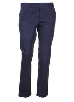 joe san pantalons femme de couleur bleu
