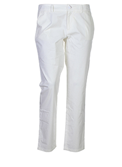 joe san pantalons femme de couleur blanc