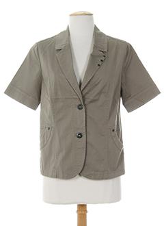 Veste chic / Blazer marron BRANDTEX pour femme
