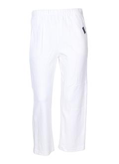 chrismas's pantalons femme de couleur blanc