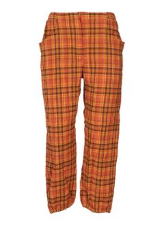 chrismas's pantacourts femme de couleur orange
