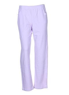 chrismas et s pantalons et decontractes femme de couleur violet