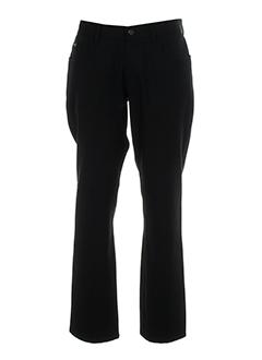 alberto pantalons femme de couleur noir