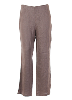 kokomarina pantalons et decontractes femme de couleur marron