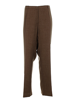 lisa et chesnay pantalons et decontractes femme de couleur marron