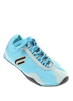 fornarina baskets femme de couleur bleu