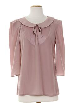 after pant's t-shirts / tops femme de couleur rose