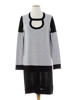 sinequanone robes femme de couleur gris
