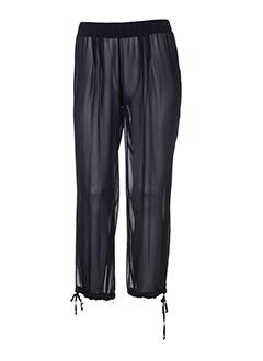 bleu blanc rouge pantalons femme de couleur noir