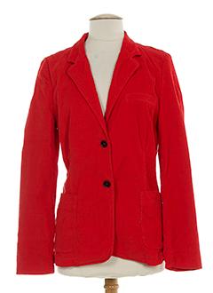 0039 et italy vestes femme de couleur rouge (photo)