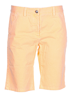 0039 et italy bermudas femme de couleur orange (photo)