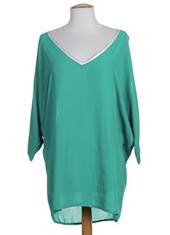 zone bleue tuniques femme de couleur vert