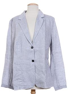 0039 et italy vestes femme de couleur gris (photo)