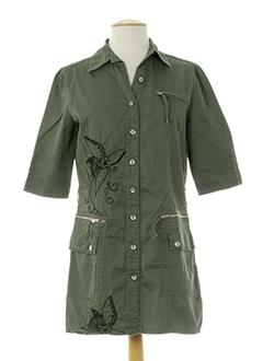 chilli pepper robes femme de couleur vert